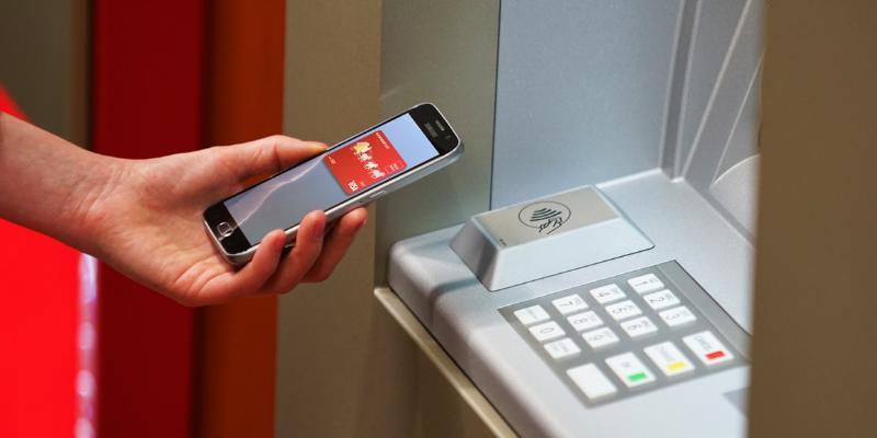 Вывод средств с Юмани NFC банкомат
